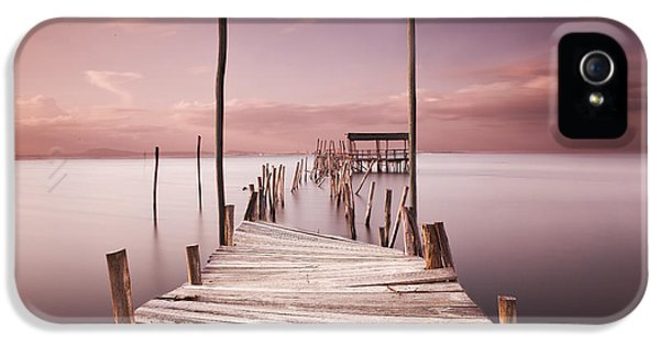 Pier iPhone 5 Cases - The passage to brightness iPhone 5 Case by Jorge Maia