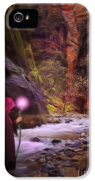 Painter iPhone 5 Cases - The Road Less Traveled iPhone 5 Case by John Edwards