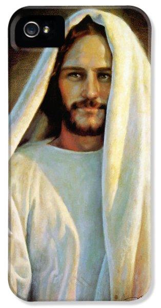 Jesus Christ iPhone 5 Cases - The Savior iPhone 5 Case by Greg Olsen