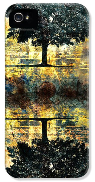 Reflection iPhone 5 Cases - The Small Dreams of Trees iPhone 5 Case by Tara Turner