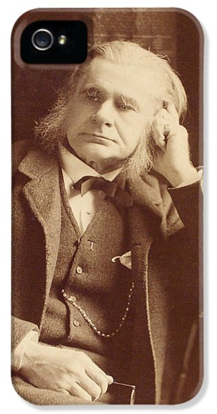 Thomas Huxley, English Biologist IPhone 5 / 5s Case by Humanities And Social Sciences Librarynew York Public Library
