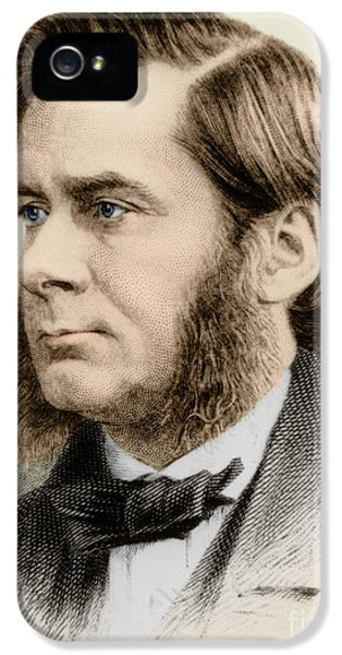Thomas Huxley, English Biologist IPhone 5 / 5s Case by Science Source
