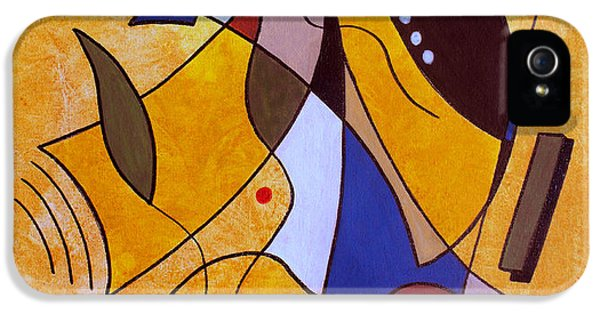 Abstracts iPhone 5 Cases - Three White Petals iPhone 5 Case by Ruth Palmer