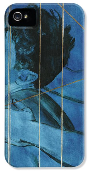 Erotic Male iPhone 5 Cases - Touch iPhone 5 Case by Rene Capone