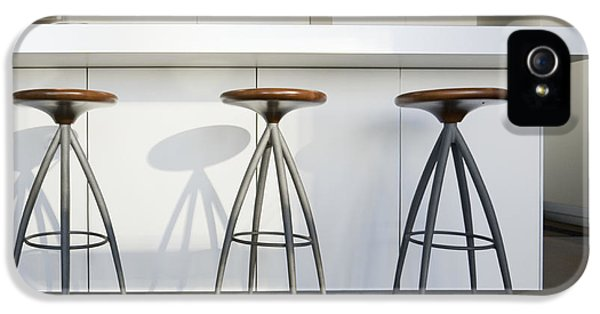 Barstools iPhone 5 Cases - Trio of Barstools iPhone 5 Case by Andersen Ross