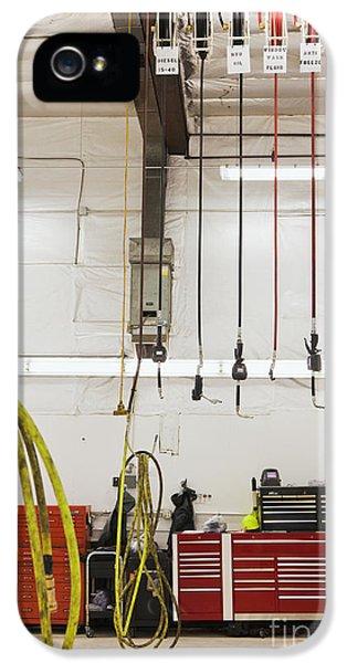 Diagnostic iPhone 5 Cases - Truck Repair Shop iPhone 5 Case by Don Mason