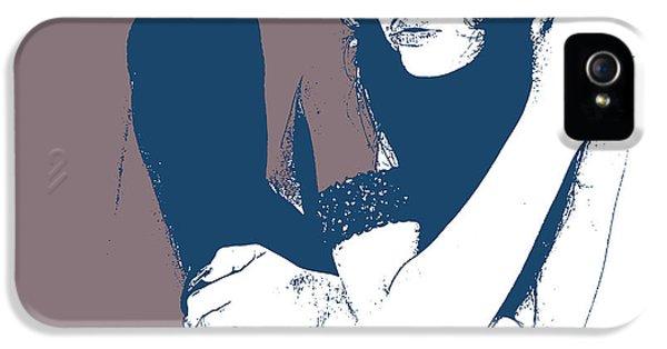 Texas iPhone 5 Cases - Vera Blue iPhone 5 Case by Naxart Studio
