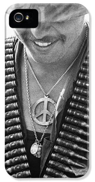 Vietnam War iPhone 5 Cases - Vietnam War: Soldier, 1970 iPhone 5 Case by Granger