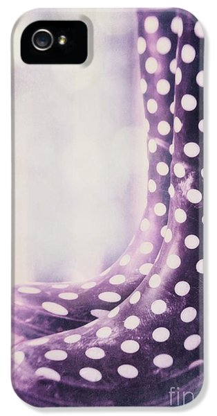 Lensbaby iPhone 5 Cases - Waiting For The Rain iPhone 5 Case by Priska Wettstein