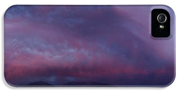 Slc iPhone 5 Cases - Wasatch Mountain Sunset iPhone 5 Case by La Rae  Roberts