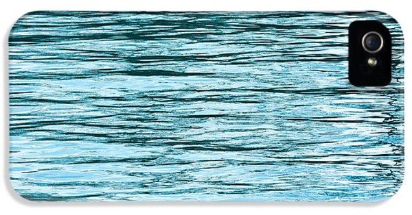 Harbor iPhone 5 Cases - Water Flow iPhone 5 Case by Steve Gadomski