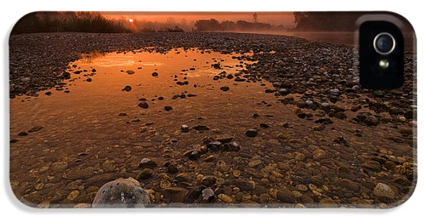 Outdoors iPhone 5 Cases - Water on Mars iPhone 5 Case by Davorin Mance