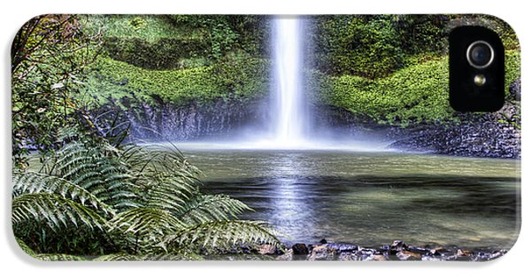 Beautiful iPhone 5 Cases - Waterfall iPhone 5 Case by Les Cunliffe