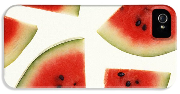 Summer iPhone 5 Cases - Watermelon iPhone 5 Case by Photo Researchers