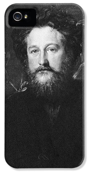 Arts And Crafts Movement iPhone 5 Cases - William Morris (1834-1896) iPhone 5 Case by Granger
