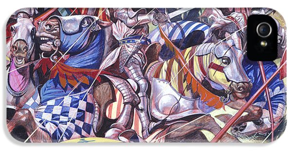Agincourt The Impossible Victory 25 October 1415 IPhone 5 / 5s Case by Ron Embleton