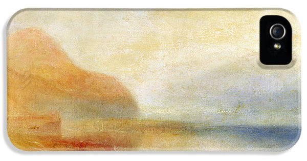 Inverary Pier - Loch Fyne - Morning IPhone 5 / 5s Case by Joseph Mallord William Turner
