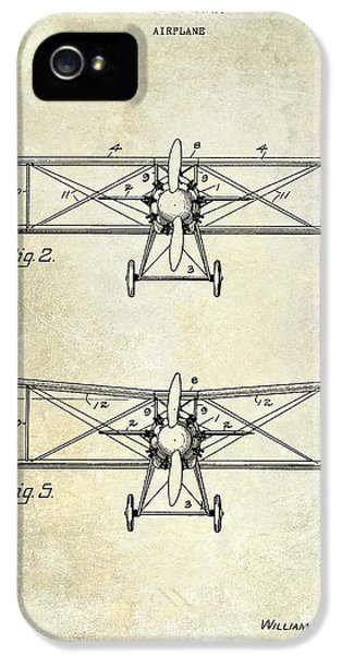 Mcdonnell Douglas iPhone 5 Cases - 1929 Airplane Patent  iPhone 5 Case by Jon Neidert