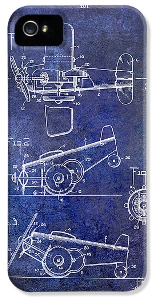 Mcdonnell Douglas iPhone 5 Cases - 1931 Toy Airplane Patent iPhone 5 Case by Jon Neidert
