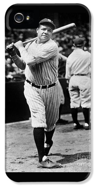 Babe Ruth IPhone 5 / 5s Case by American School
