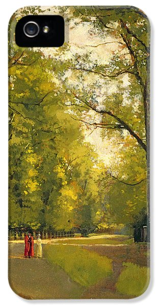 Contemplative iPhone 5 Cases - Backs of the Colleges Cambridge iPhone 5 Case by Cyrus Johnson
