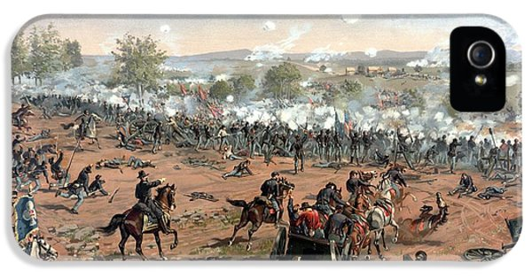 Battle Of Gettysburg IPhone 5 / 5s Case by War Is Hell Store