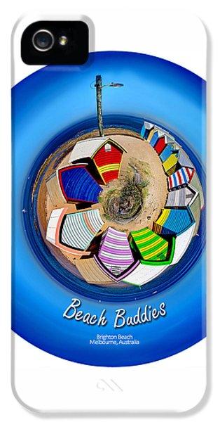 Hut iPhone 5 Cases - Beach Buddies  iPhone 5 Case by Az Jackson