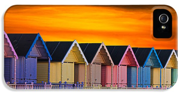 Epic iPhone 5 Cases - Beach Huts iPhone 5 Case by Martin Newman