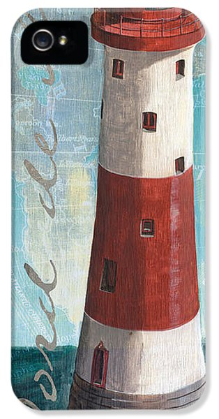 Lighthouse iPhone 5 Cases - Bord de Mer iPhone 5 Case by Debbie DeWitt