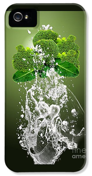 Broccoli Splash IPhone 5 / 5s Case by Marvin Blaine