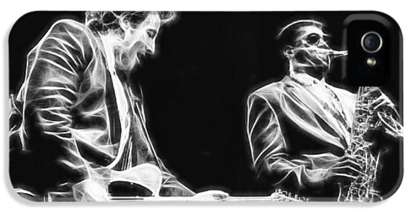 Bruce Springsteen Clarence Clemons Collection IPhone 5 / 5s Case by Marvin Blaine