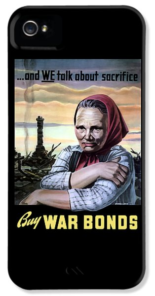 Ruins iPhone 5 Cases - Buy War Bonds iPhone 5 Case by War Is Hell Store