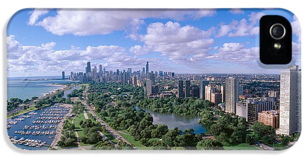 Chicago Harbor, City Skyline, Illinois IPhone 5 / 5s Case by Panoramic Images