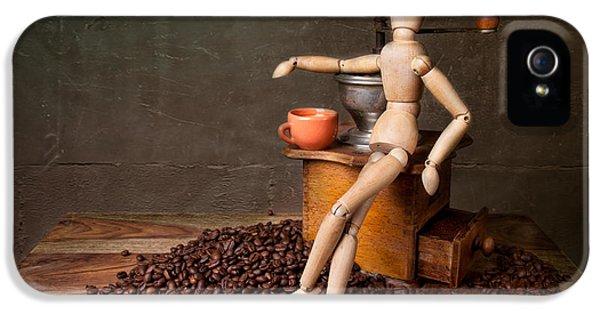 Coffee Break IPhone 5 / 5s Case by Nailia Schwarz