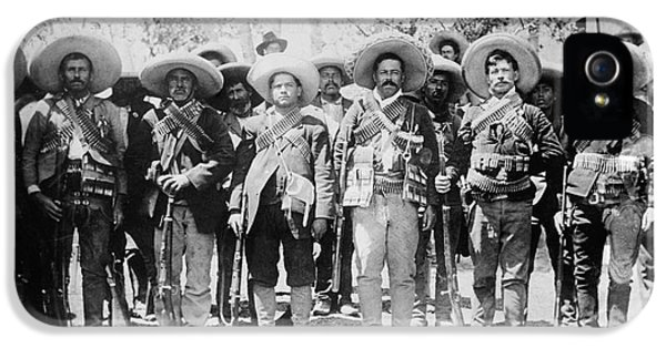 Bullets iPhone 5 Cases - Francisco Pancho Villa iPhone 5 Case by Granger