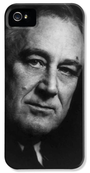 White House iPhone 5 Cases - Franklin Roosevelt iPhone 5 Case by War Is Hell Store