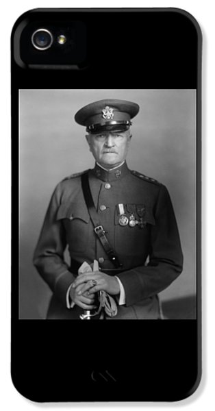 Force iPhone 5 Cases - General John Pershing iPhone 5 Case by War Is Hell Store