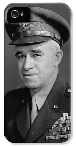 Memorial Day iPhone 5 Cases - General Omar Bradley iPhone 5 Case by War Is Hell Store