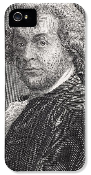 John Adams 1735 - 1826. First Vice IPhone 5 / 5s Case by Vintage Design Pics