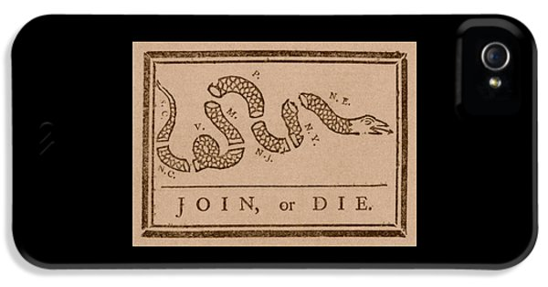Us iPhone 5 Cases - Join or Die iPhone 5 Case by War Is Hell Store