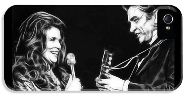 June Carter And Johnny Cash Collection IPhone 5 / 5s Case by Marvin Blaine