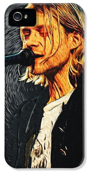 Kurt Cobain IPhone 5 / 5s Case by Taylan Soyturk