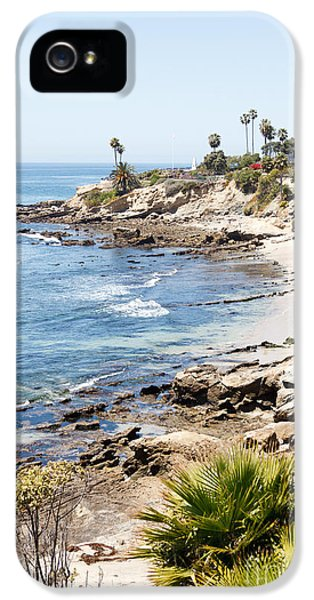 High Key iPhone 5 Cases - Laguna Beach California iPhone 5 Case by Paul Velgos