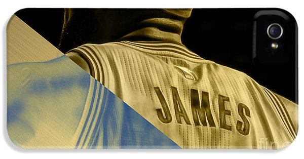 Lebron James Collection IPhone 5 / 5s Case by Marvin Blaine