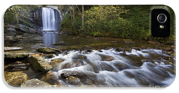 Look iPhone 5 Cases - Looking Glass Falls North Carolina iPhone 5 Case by Dustin K Ryan