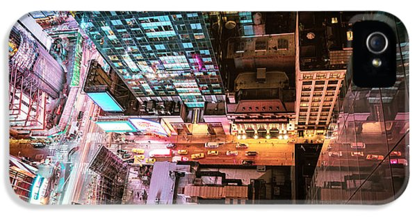 New York City - Night IPhone 5 / 5s Case by Vivienne Gucwa