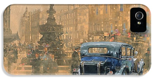 Phantom In Piccadilly  IPhone 5 / 5s Case by Peter Miller