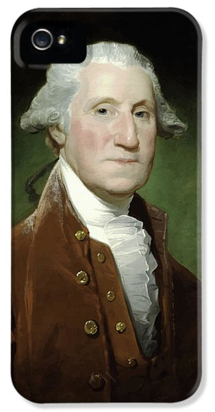 Continental iPhone 5 Cases - President George Washington  iPhone 5 Case by War Is Hell Store