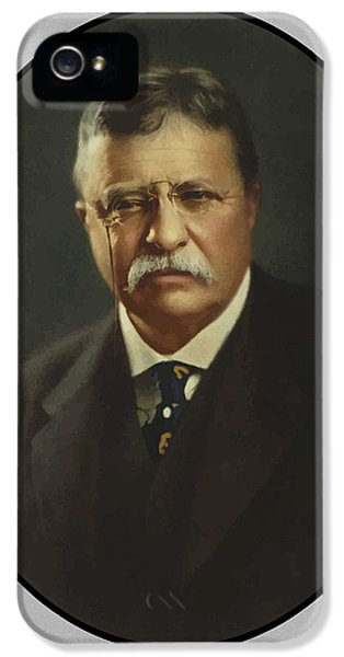 President iPhone 5 Cases - President Theodore Roosevelt  iPhone 5 Case by War Is Hell Store