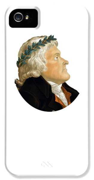 President Thomas Jefferson IPhone 5 / 5s Case by War Is Hell Store